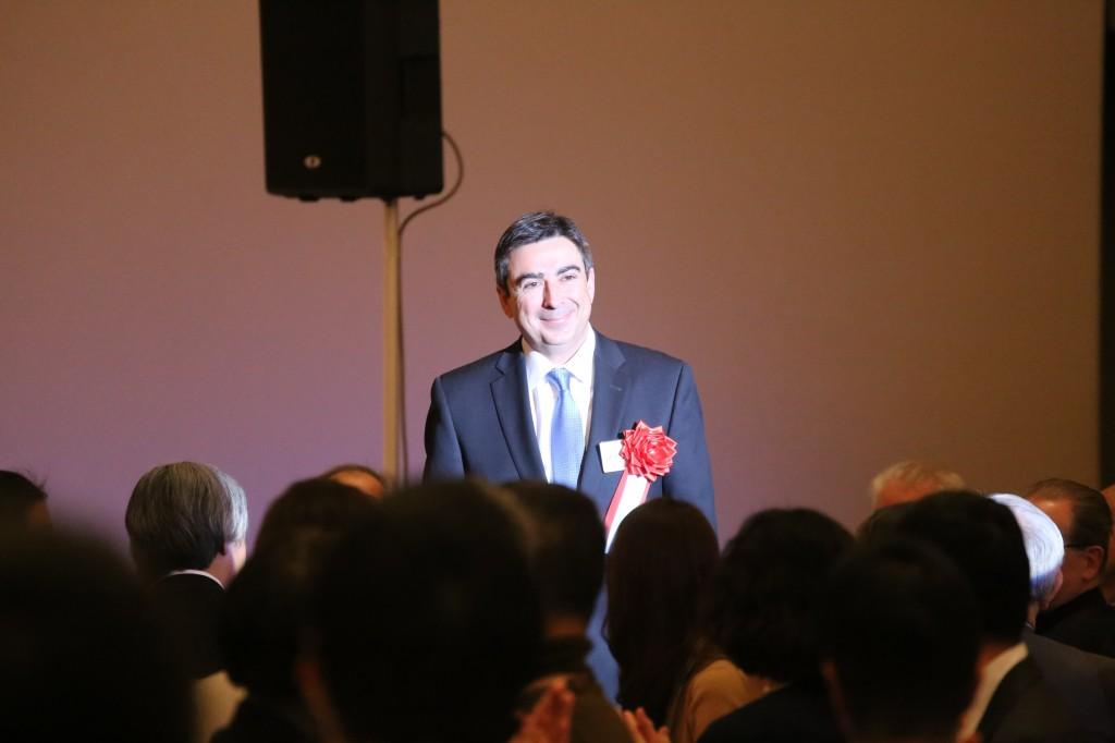 来賓 カナダ公使